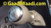2015 Toyota Etios facelift spied gear knob