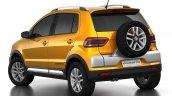 2015 VW CrossFox rear quarter angle