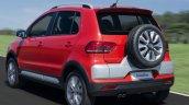 2015 VW CrossFox rear quarters