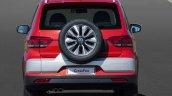 2015 VW CrossFox rear