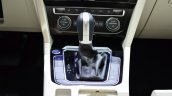 2015 VW Passat gear shifter at the 2014 Paris Motor Show