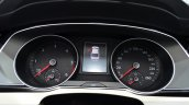 2015 VW Passat instrument binnacle at the 2014 Paris Motor Show
