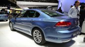 2015 VW Passat rear three quarters at the 2014 Paris Motor Show