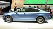 2015 VW Passat side at the 2014 Paris Motor Show