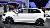 2015 VW Polo GTI side at the 2014 Paris Motor Show