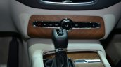 2015 Volvo XC90 gear lever at the 2014 Paris Motor Show