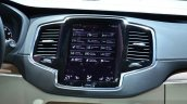 2015 Volvo XC90 infotainment screen at the 2014 Paris Motor Show