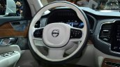 2015 Volvo XC90 steering at the 2014 Paris Motor Show