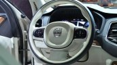 2015 Volvo XC90 steering wheel at the 2014 Paris Motor Show