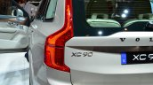 2015 Volvo XC90 taillight illuminated at the 2014 Paris Motor Show