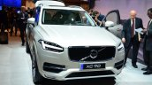 2015 Volvo XC90 white front at the 2014 Paris Motor Show