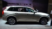 2015 Volvo XC90 white side at the 2014 Paris Motor Show