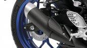 2015 Yamaha YZF-R3 exhaust