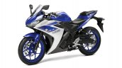 2015 Yamaha YZF-R3 front quarters