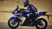 2015 Yamaha YZF-R3 side in motion