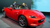 2016 Mazda MX-5 Miata front three quarters right at the 2014 Paris Motor Show
