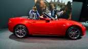 2016 Mazda MX-5 Miata side at the 2014 Paris Motor Show