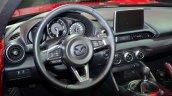 2016 Mazda MX-5 Miata steering wheel at the 2014 Paris Motor Show