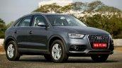 Audi Q3 Dynamic Gray front Review