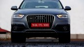 Audi Q3 Dynamic Gray front angle Review
