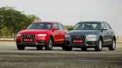 Audi Q3 Dynamic front angles Review