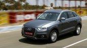 Audi Q3 Dynamic front quarter angle Review