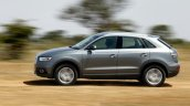 Audi Q3 Dynamic new color side Review