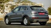 Audi Q3 Dynamic rear three quarter Review