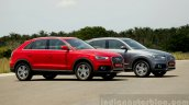 Audi Q3 Dynamic red and gray Review