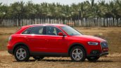 Audi Q3 Dynamic red side Review
