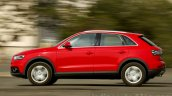 Audi Q3 Dynamic side angle Review