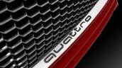 Audi TT Sportback concept Quattro badge press shot