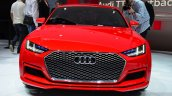 Audi TT Sportback concept front at the 2014 Paris Motor Show