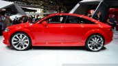 Audi TT Sportback concept side view at the 2014 Paris Motor Show