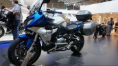 BMW R 1200 RS with accessories front three quarters at the INTERMOT 2014