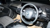 BMW i3 interior at the 2014 Colombo Motor Show Sri Lanka