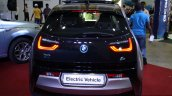 BMW i3 rear at the 2014 Colombo Motor Show Sri Lanka