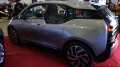 BMW i3 rear left three quarter at the 2014 Colombo Motor Show Sri Lanka