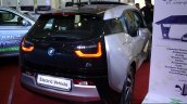 BMW i3 rear three quarter at the 2014 Colombo Motor Show Sri Lanka