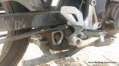 Bajaj Pulsar 160 NS spied underbelly exhaust