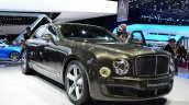 Bentley Mulsanne Speed at the Paris Motor Show of 2014
