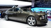 Bentley Mulsanne Speed front three quarters left