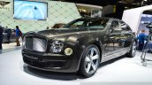 Bentley Mulsanne Speed front three quarters