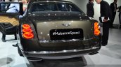 Bentley Mulsanne Speed rear at the 2014 Paris Motor Show