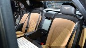Bentley Mulsanne Speed rear seat at the 2014 Paris Motor Show
