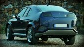 Big Daddy Customs Muscle Coupe rear quarters