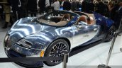 Bugatti Veyron Grand Sport Vitesse Ettore Bugatti front quarter at 2014 Paris Motor Show
