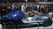 Bugatti Veyron Grand Sport Vitesse Ettore Bugatti side at 2014 Paris Motor Show