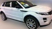 China-made Range Rover Evoque spied