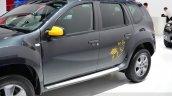 Dacia Duster Air door graphics at the 2014 Paris Motor Show